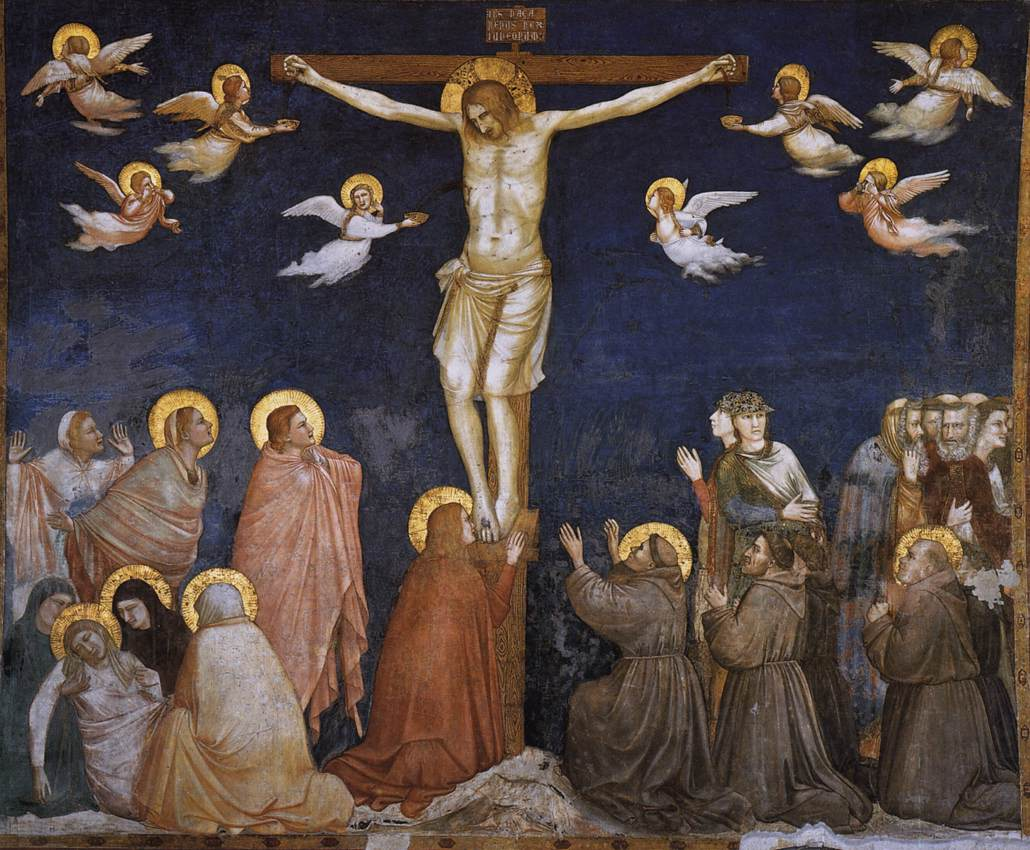 Giotto Lower Church Assisi Crucifixion 01